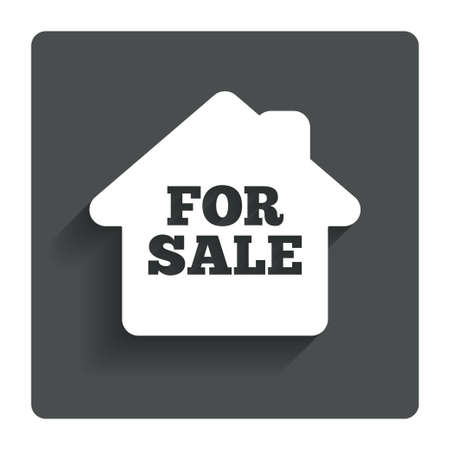 for sale sign: For sale sign icon.