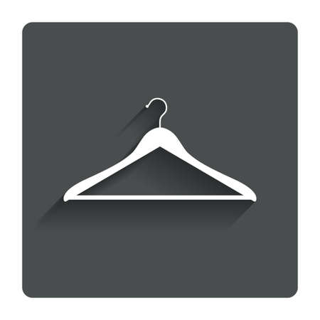 Hanger sign icon.