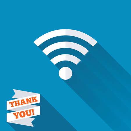 Free Wifi Sign. Wifi Symbol. Wireless Network Icon. Wifi Zone ...