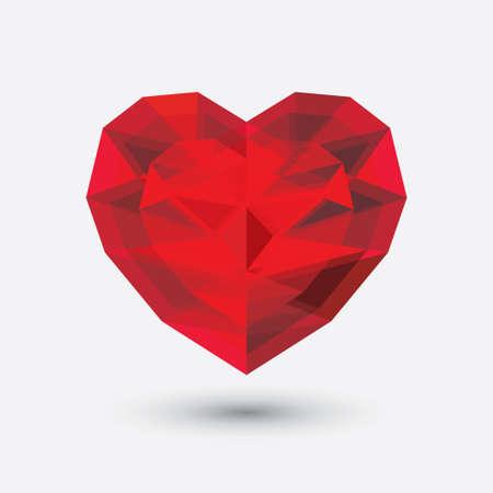 corazon cristal: Icono del coraz�n de cristal.