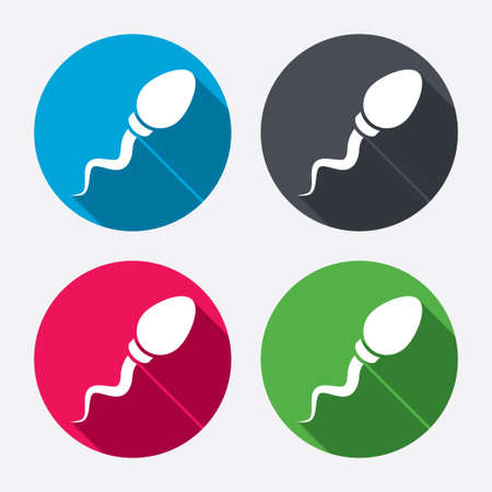 insemination: Fertilization or insemination symbol.
