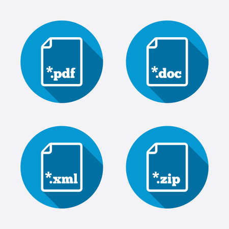 extensible: Download document icons.