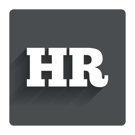 Human resources sign icon. HR symbol