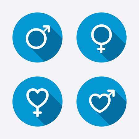 man and woman sex: Мужские и женские половые иконки