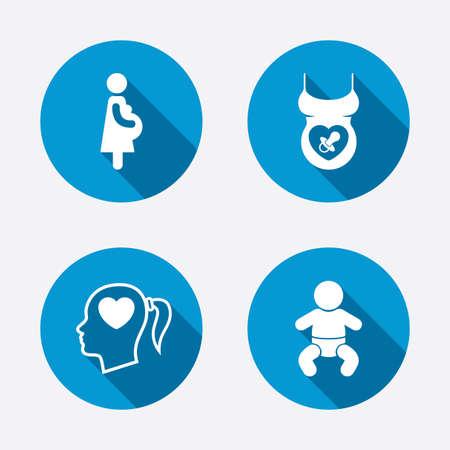 lactante: Iconos de maternidad