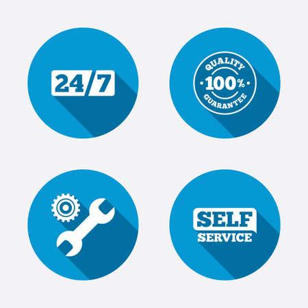 guarantee: Repair fix tool icons