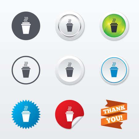take: Take a Coffee sign icon
