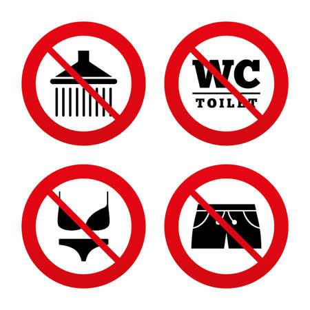 no swimming: No, Ban or Stop signs.