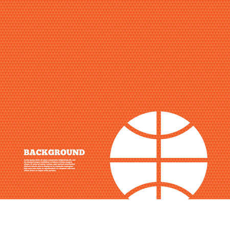 orange texture: Background with seamless pattern. Basketball sign icon. Sport symbol. Triangles orange texture. Vector