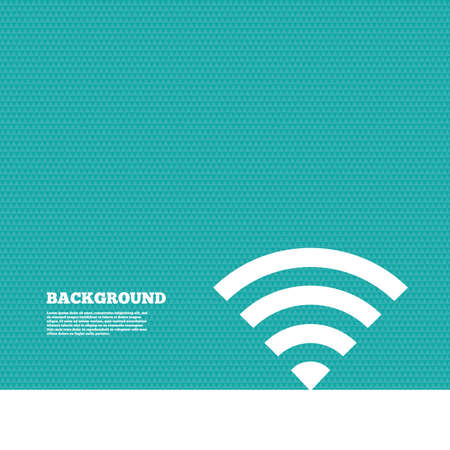 green texture: Background with seamless pattern. Wifi sign.  Wireless Network icon. Wifi zone. Triangles green texture. Vector
