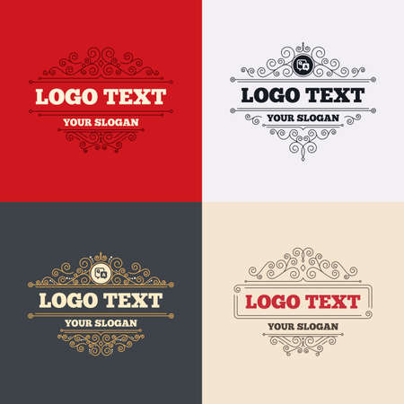 qa: Royal flourishes calligraphic. Question answer sign icon. Q&A symbol. Luxury ornament lines. Vector