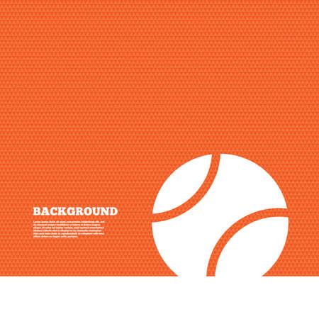 symbol sport: Hintergrund mit nahtlose Muster. Tennis Ball-Zeichen-Symbol. Sport-Symbol. Dreiecke orange Beschaffenheit. Vektor