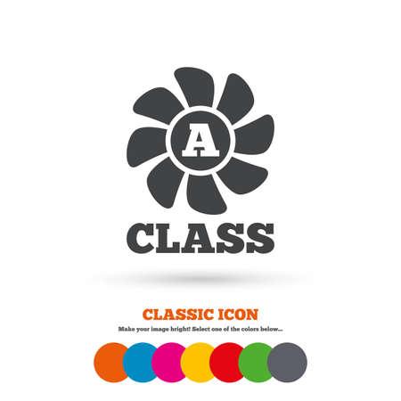 ventilation: A-class ventilation icon