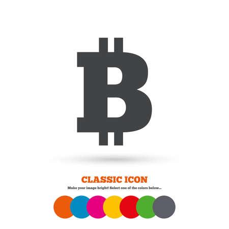 peer: Bitcoin sign icon