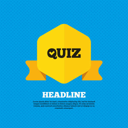 check sign: Quiz check sign icon Illustration