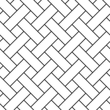 braided: Braided grid texture. Stripped geometric seamless pattern. Illustration