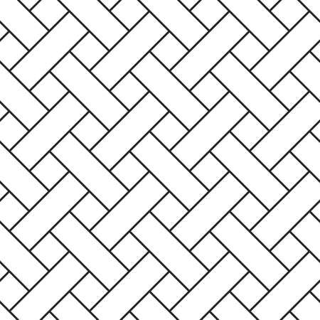 braided: Braided grid texture. Stripped geometric seamless pattern. Illustration