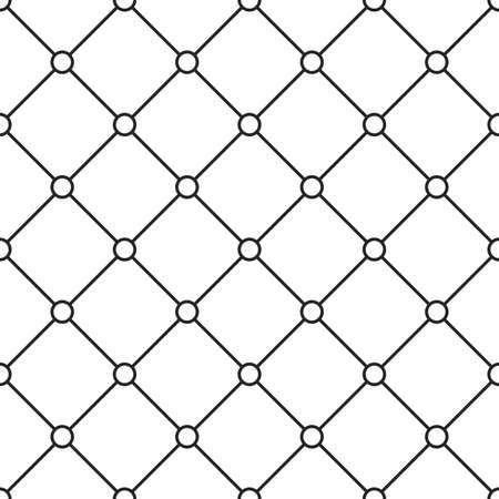 grid texture: Circles grid texture. Stripped geometric seamless pattern.
