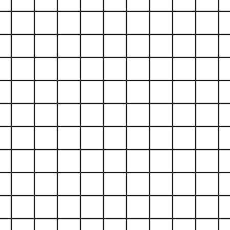 Cell grid texture. Stripped geometric seamless pattern. Stock Illustratie