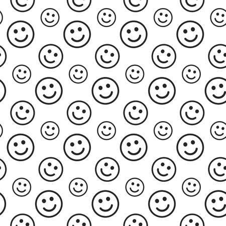 texturing: Smile lines texture. Stripped geometric seamless pattern. Illustration