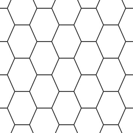 lattice frame: Hex lines grid texture. Stripped geometric seamless pattern. Illustration