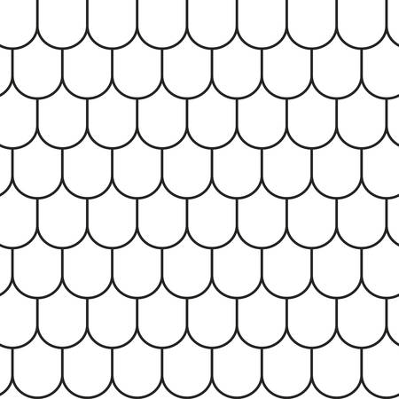 tile roof: Roof tile lines texture. Stripped geometric seamless pattern.