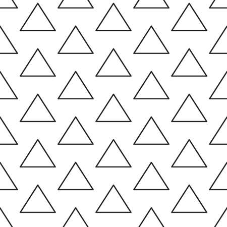 texturing: Triangles lines texture. Stripped geometric seamless pattern.
