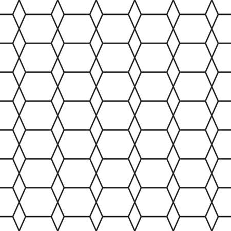 texturing: Rhombus lines texture. Stripped geometric seamless pattern. Illustration