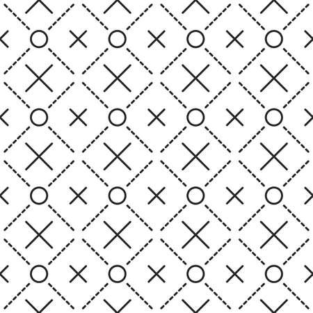 grid pattern: Circles grid texture. Stripped geometric seamless pattern.