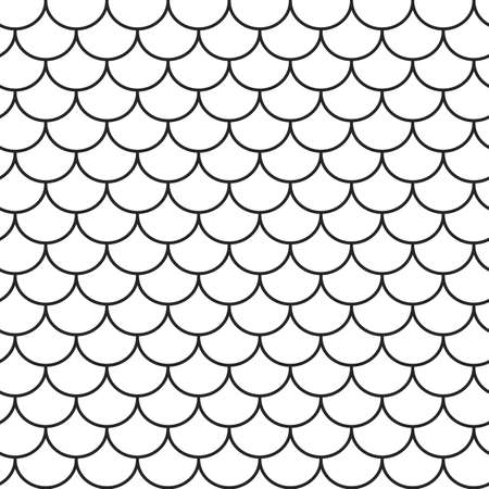 texturing: Roof tile lines texture. Stripped geometric seamless pattern.