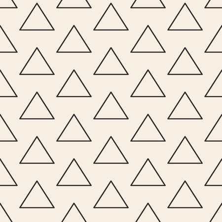 minimalistic: Triangles lines texture. Stripped geometric seamless pattern.