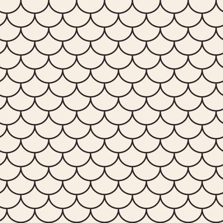 housetop: Roof tile lines texture. Stripped geometric seamless pattern.
