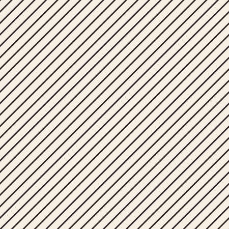 Diagonal lines texture. Stripped geometric seamless pattern Illustration