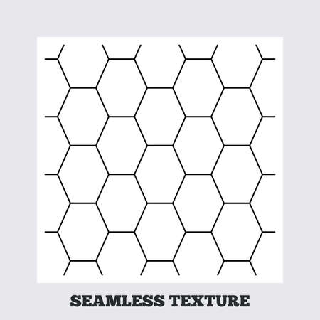 texturing: Seamless texture. Hex lines grid texture. Stripped geometric seamless pattern. Modern repeating stylish texture. Flat pattern on white background. Vector