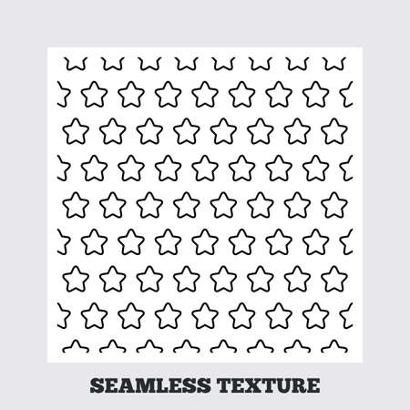 texturing: Seamless texture. Stars lines texture. Stripped geometric seamless pattern. Modern repeating stylish texture. Flat pattern on white background. Vector