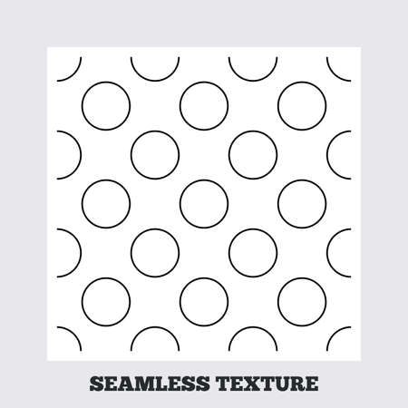 texturing: Seamless texture. Circles texture. Stripped geometric seamless pattern. Modern repeating stylish texture. Flat pattern on white background. Vector