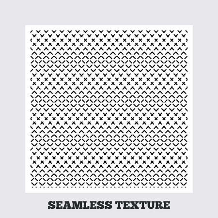 texturing: Seamless texture. Dashed lines texture. Ornament geometric seamless pattern. Modern repeating stylish texture. Flat pattern on white background. Vector