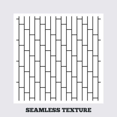 cobbles: Seamless texture. Cobbles grid texture. Stripped geometric seamless pattern. Modern repeating stylish texture. Flat pattern on white background. Vector Illustration