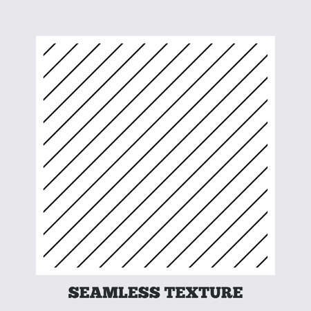 texturing: Seamless texture. Diagonal lines texture. Stripped geometric seamless pattern. Modern repeating stylish texture. Flat pattern on white background. Vector
