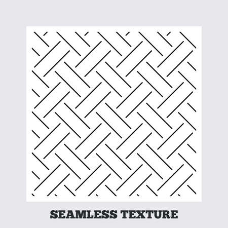 braided: Seamless texture. Braided grid texture. Stripped geometric seamless pattern. Modern repeating stylish texture. Flat pattern on white background. Vector