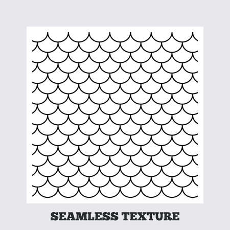 tile roof: Seamless texture. Roof tile lines texture. Stripped geometric seamless pattern. Modern repeating stylish texture. Flat pattern on white background. Vector
