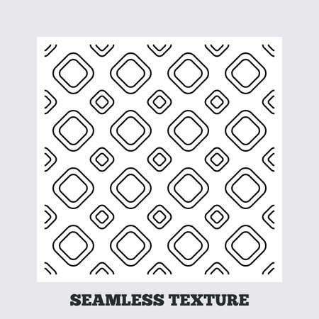 texturing: Seamless texture. Square tiles lines texture. Stripped geometric seamless pattern. Modern repeating stylish texture. Flat pattern on white background. Vector Illustration