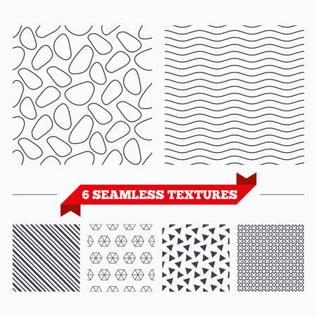 texturing: Diagonal lines, waves and geometry design. Stone tiles lines texture. Stripped geometric seamless pattern. Modern repeating stylish texture. Material patterns.
