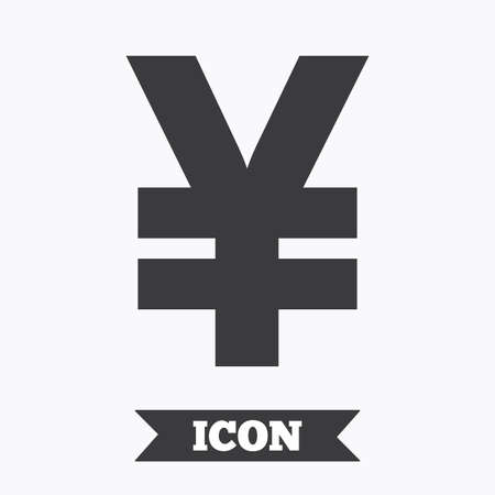Yen Sign Icon Jpy Currency Symbol Money Label Graphic Design