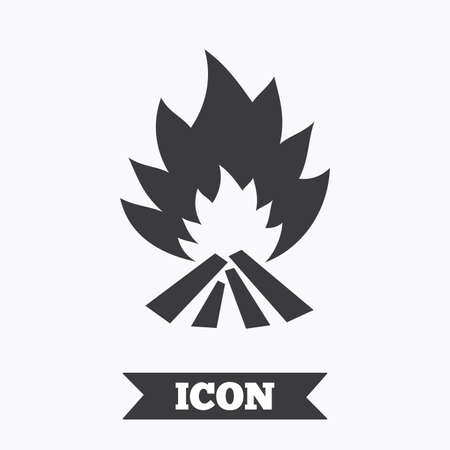 fire escape: Fire flame sign icon. Heat symbol. Stop fire. Escape from fire. Graphic design element. Flat fire flame symbol on white background. Vector Illustration