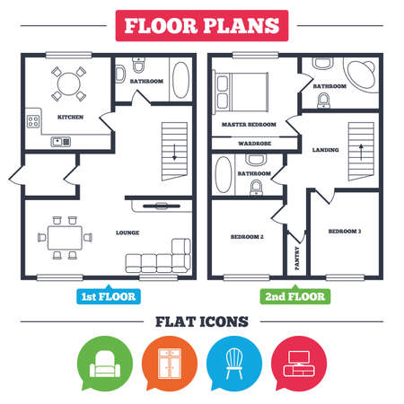 Architecture Plan With Furniture House Floor Plan Furniture