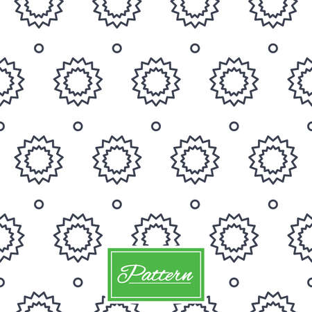 texturing: Stars with circles lines texture. Stripped geometric seamless pattern. Modern repeating stylish texture. Abstract minimal pattern background. Vector