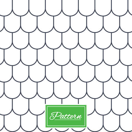 Dakpan lijnen textuur. Gestript geometrische naadloos patroon. Modern herhalen stylish textuur. Abstracte minimale patroon achtergrond. Vector Stock Illustratie