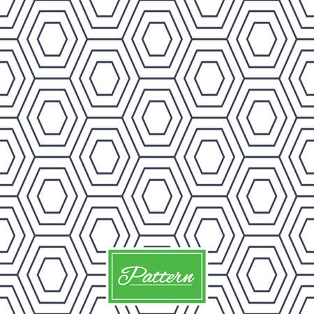 Hex lines grid texture. Stripped geometric seamless pattern. Modern repeating stylish texture. Abstract minimal pattern background. Vector