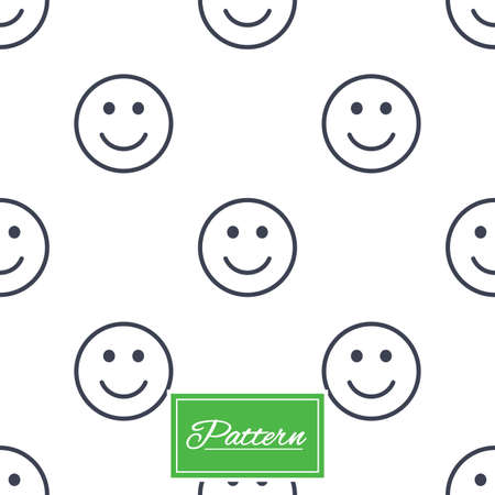 Smile lines texture. Stripped geometric seamless pattern. Modern repeating stylish texture. Abstract minimal pattern background. Vector